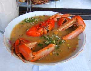 soup when you reach crab cut crab in half add to crock she crab soup ...