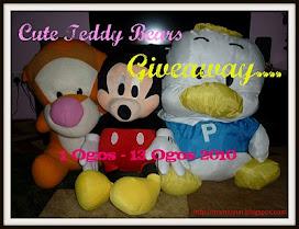 Cute Teddy Bears Giveaway