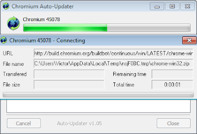 Imagen: Chromium Auto Updater, Auto Uploader