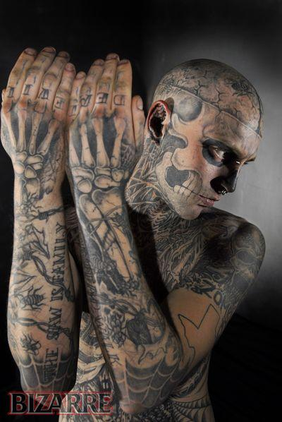 bizarre tattoo. Bizarre Magazine UK