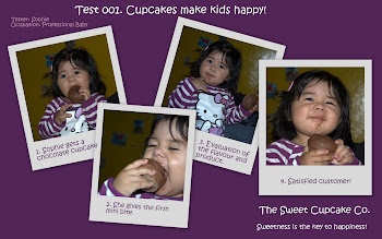 How to enjoy our cupcakes!