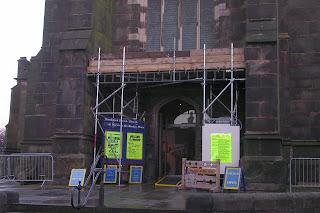 St Marys entrance, Dec 06
