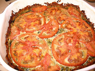 ... , Ravings & Misbehavings: Spinach Quiche with Zucchini & Potato C...