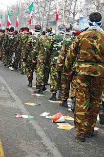 Baseej Parades for 22 Bahman, Tehran