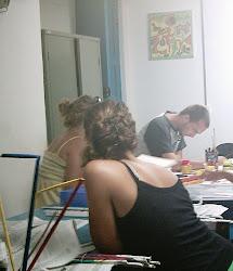 Processos  de  criação  dos  estudantes  de  Artes  Visuais
