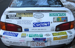 Cambridge, Mass. Bumper Sticker Onsluaght