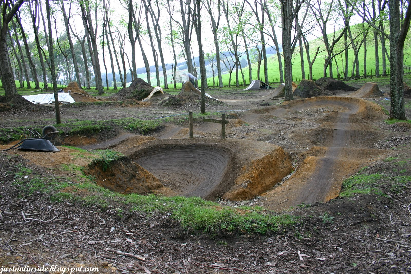 Backyard Bmx Pump Track :  Rugged Material PumpTrack on Pinterest  Track, Pump and Backyards