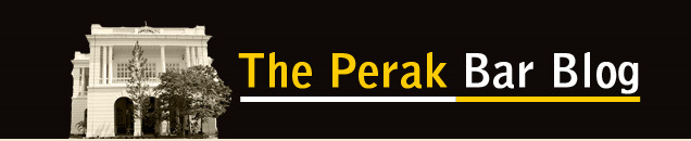 THE PERAK BAR BLOG