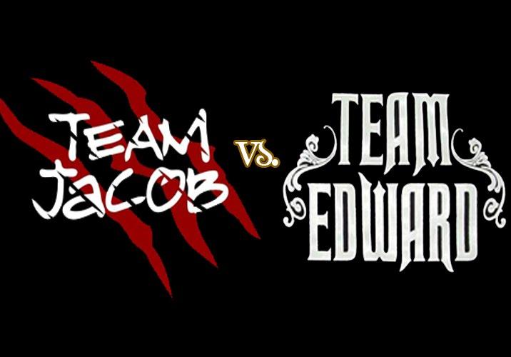 Team Edward And Team Jacob Team Jacob vs Team Edward