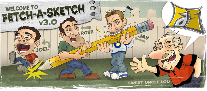 Sweet Uncle Lou's Fetch-a-Sketch