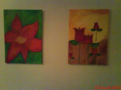 Estos son mis últimos cuadros pintados