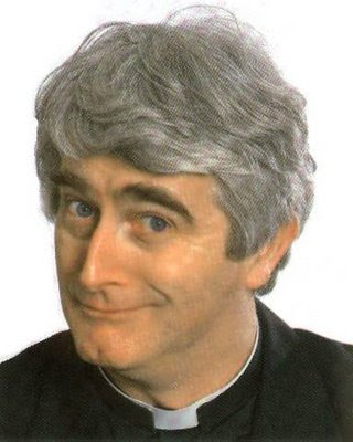 Father Ted Mrs Doyle. TCD chaplain takes Father Ted