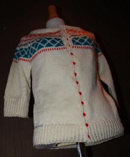 monster til jente genser i ull