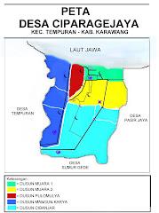Peta Desa Ciparagejaya