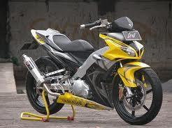 Modifikasi Jupiter Mx Kuning