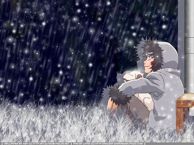 Akamaru And Kiba Rainy Days