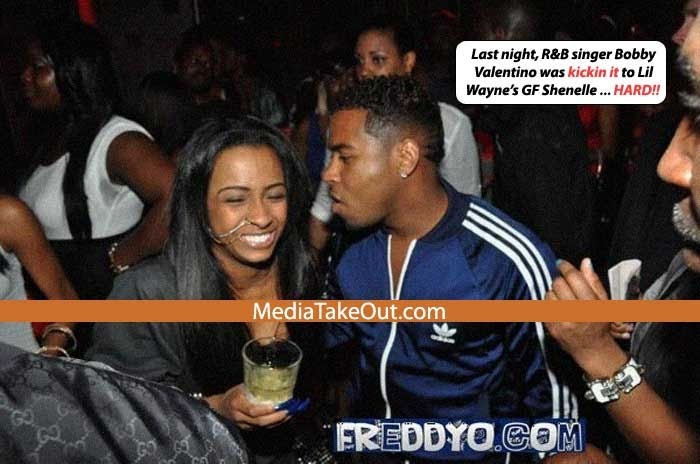 photos of lil wayne girlfriend shanell. Shanelle#39;s ear all night.