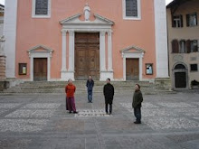 "Ricreation d""Arcadia,  In front of Chiesa di San Marco. November 2004 (Rovereto, Italy)"