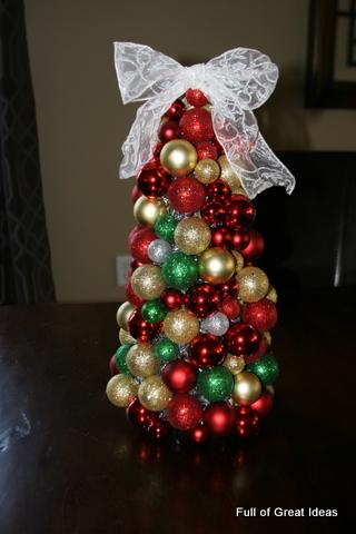 Full Of Great Ideas Christmas Ornament Tree
