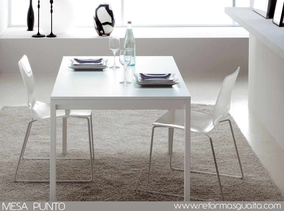 Mesa alta de cocina extensible mesa de cocina extensible for Mesas altas de cocina