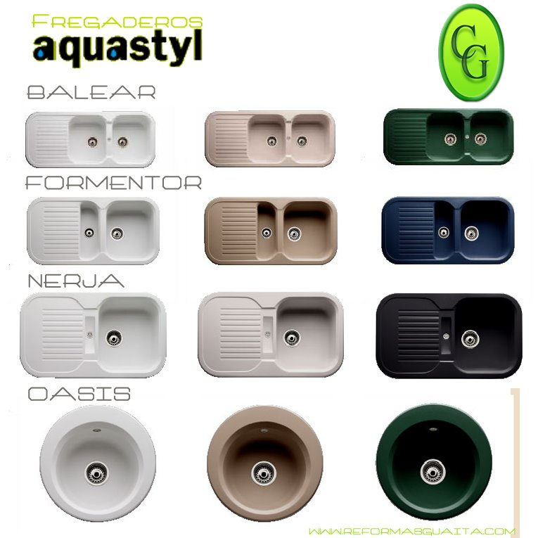 fregadero aquastyl