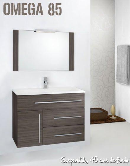 Muebles Baño Medidas Reducidas:Colección OMEGA de muebles de baño ~ Reformas Guaita
