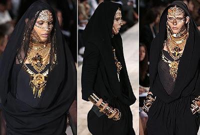 Dubai Burka Fashion Show