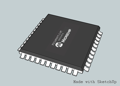 SketchUp PCB Electronics component