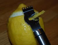 Citronzestning pågår