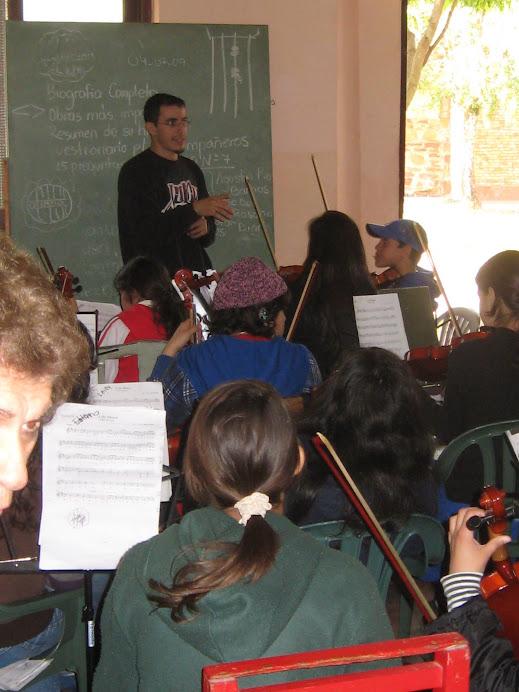 das Orchester in San Juan