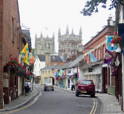 a bustling market town, wimborne has some lovely shops!
