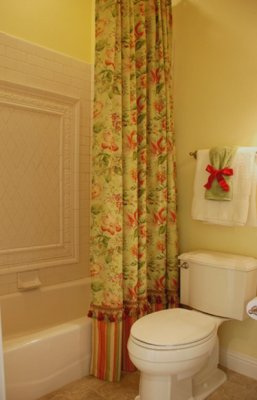 Sharing my design secrets custom shower curtains and liners for Bathtub covers liners