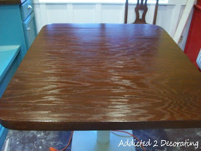 Plywood Table Top With Iron-On Edge Banding