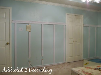 DIY project board and batten walls