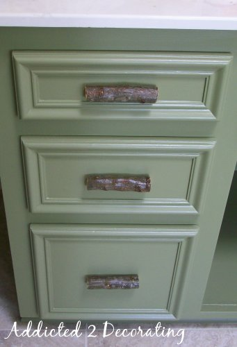 Tree Branch Drawer  Door Pulls