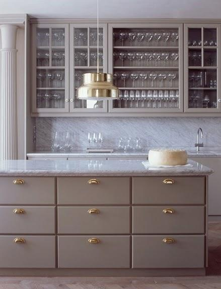 Rosa Beltran Design Affordable Brass Cabinet Hardware