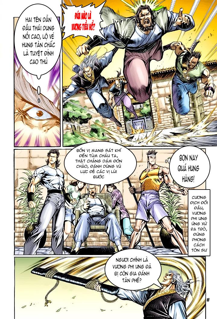 Tân Tác Long Hổ Môn chap 62 - Trang 8