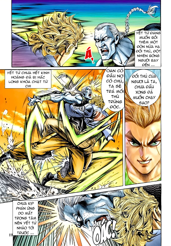 Tân Tác Long Hổ Môn chap 64 - Trang 11