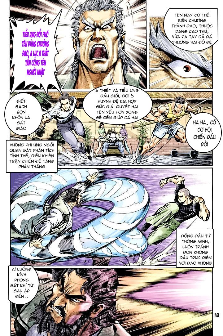 Tân Tác Long Hổ Môn chap 62 - Trang 18