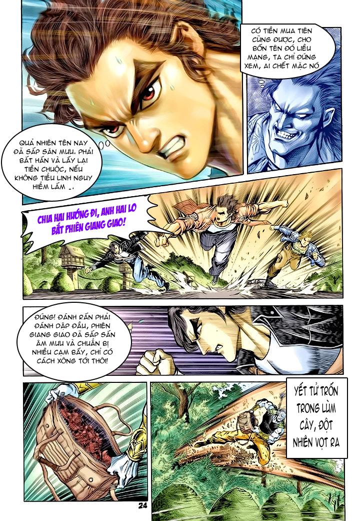 Tân Tác Long Hổ Môn chap 62 - Trang 24