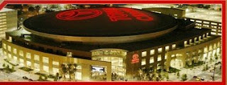 Toyota Center in Downtown Houston