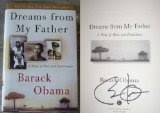 Signed copy of Dreams of My Father