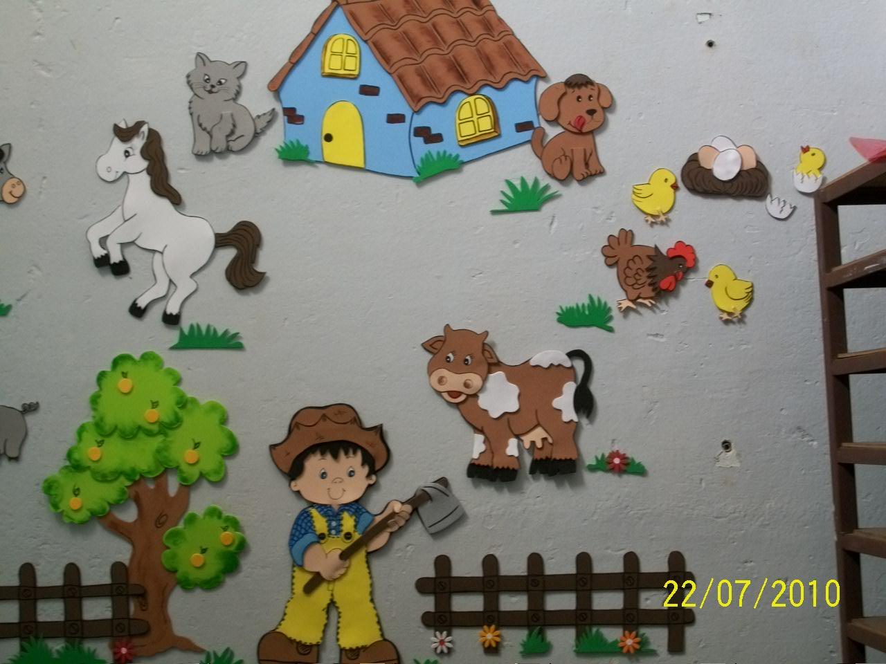 20170305180108_decoracao Fazendinha Quarto De Bebe Beigit Com ~ Enfeite Para Quarto De Bebe Em Eva