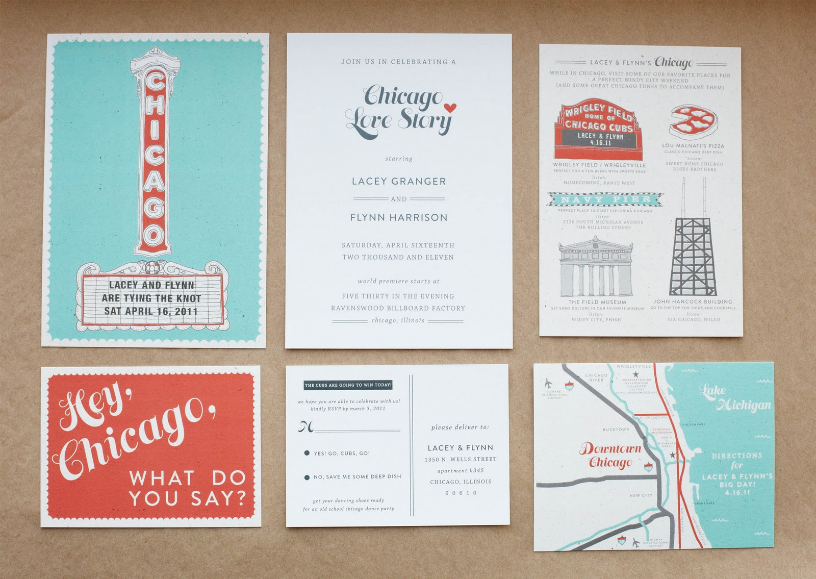 Chicago Wedding Invites Archives – Swiss Cottage Designs