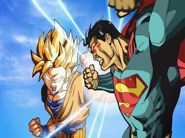 goku ssj3 vs superman - photo #27