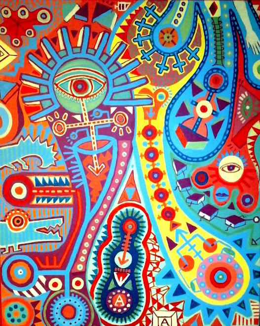 Acrílico sobre lienzo 2009