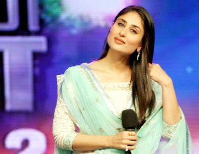 kareena kapoor on the sets of india got talent hot photoshoot