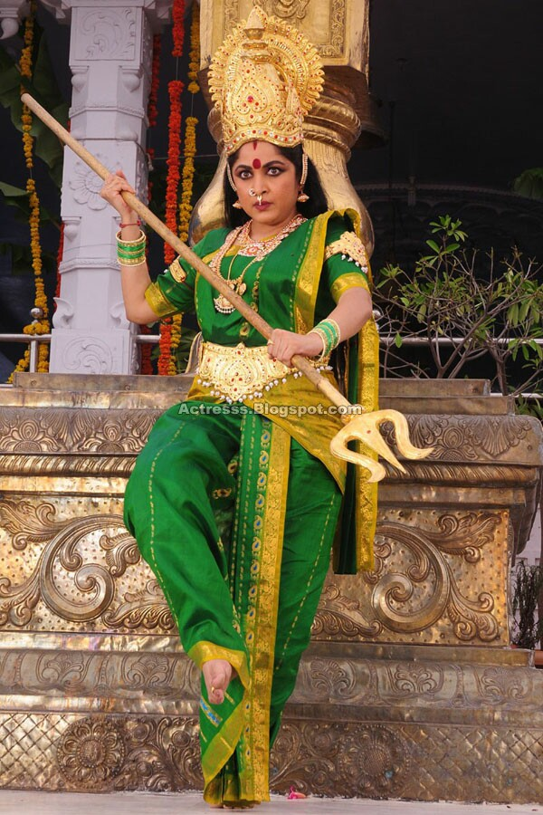 , Ramya Krishnan Stills as Madhura Meenakshi
