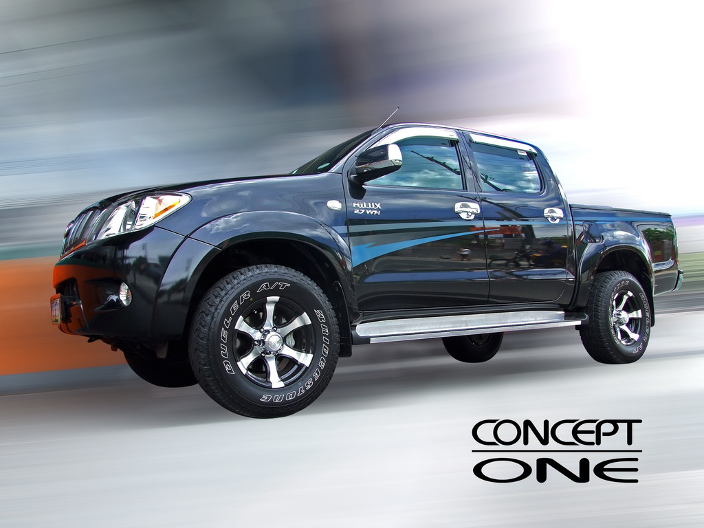 Avenged Car Toyota Hilux Double Cab Top In Class