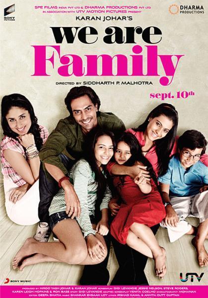 انفراد تام : فيلم الدراما والرومانسيه الهندى We Are Family 2010 DVdRip Translated We-are-family-review-we-are-family-32791
